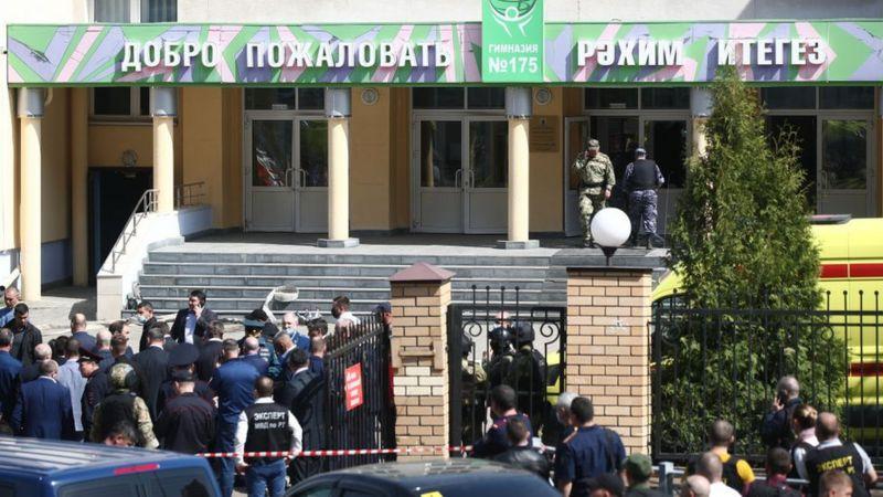 Tiroteo en escuela de Rusia deja 8 muertos