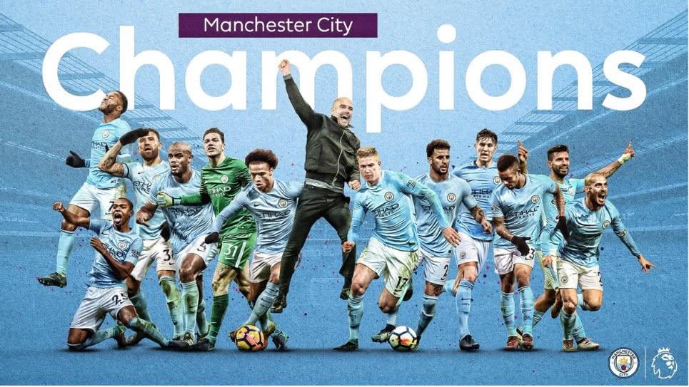 Manchester City se corona en la Premier League