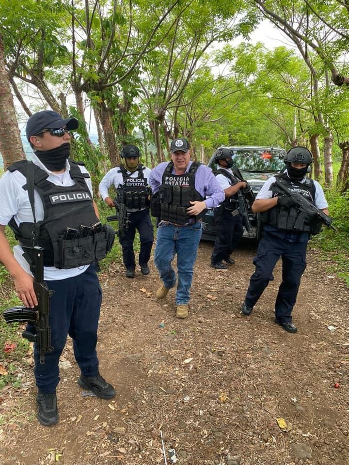 Alcalde pide a autoridades retirarse de San Andrés; SSP no hace caso