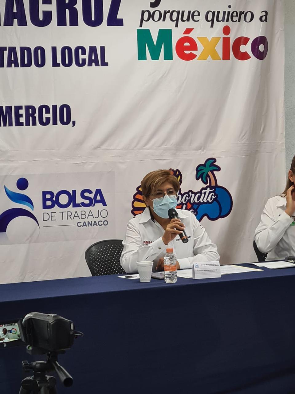 Empresarios estarán bien representados en el Congreso: Rosa María Hernández