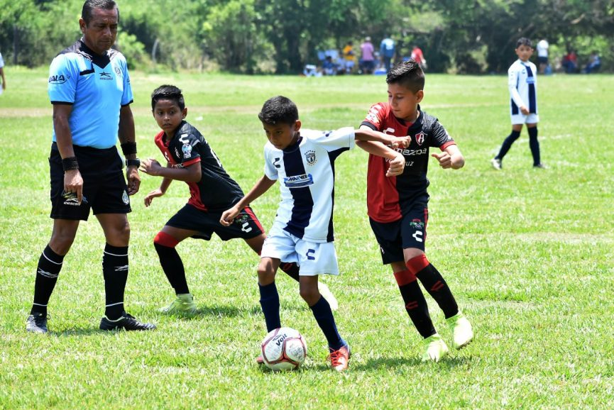 Inicia la jornada 8 de la Liga Municipal Infantil de Futbol y tendrá 25 partidos a lo largo del fin de semana