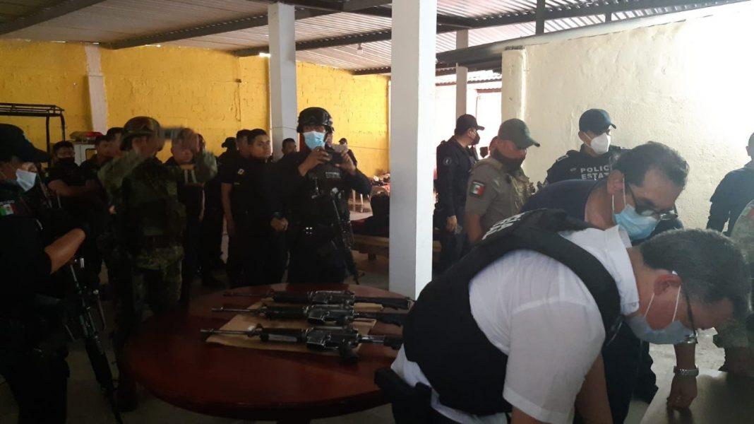 Síndica de Playa Vicente usa la policía para atacar a candidato de Morena