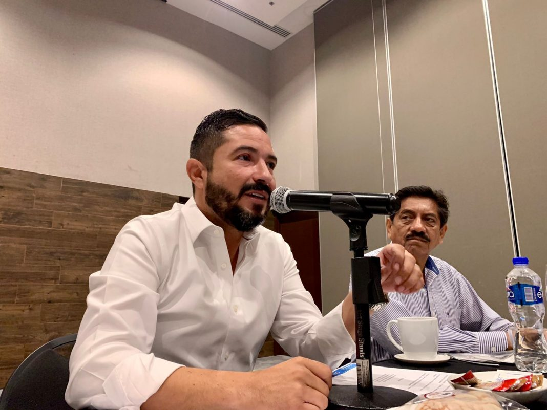 Jaime de la Garza: fomentaremos la inversión desde el Congreso del Estado para el sector comercial