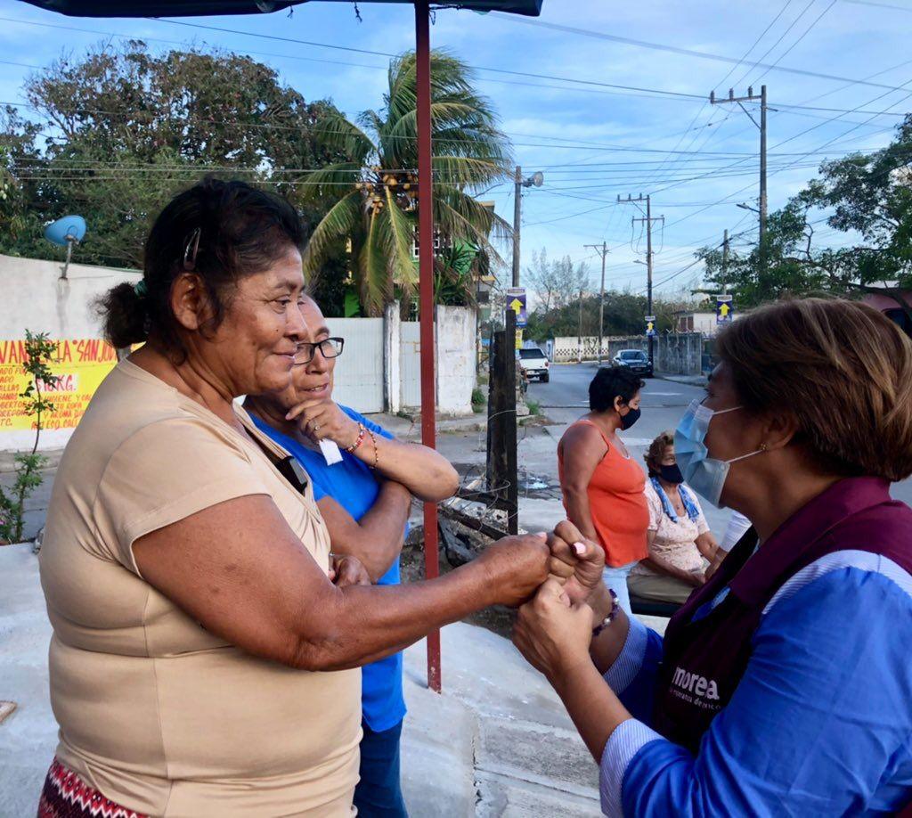 Rosa María Hernández: Mi mejor encuesta es la aprobación del pueblo