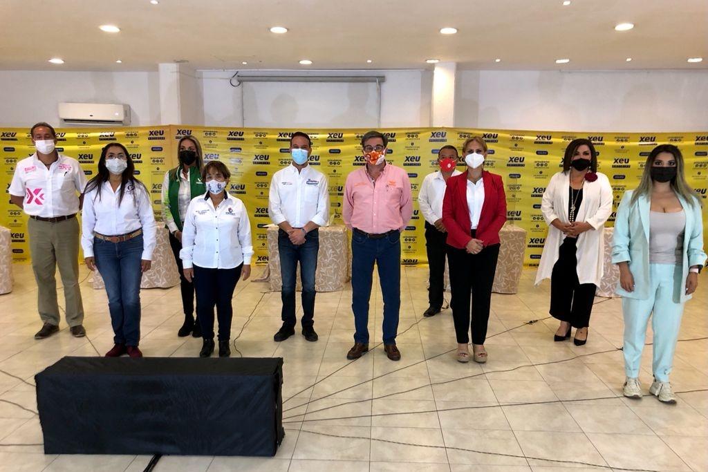 Candidatos a la alcaldía de Boca del Río presentan sus propuestas en debate