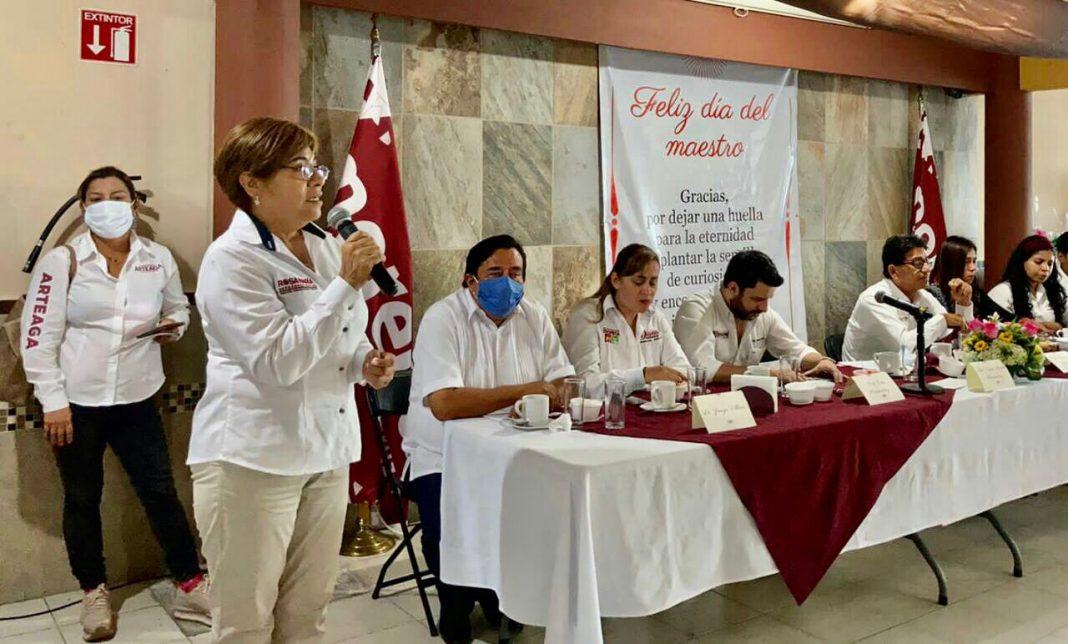 Apoyaré la educación de calidad: Rosa María Hernández