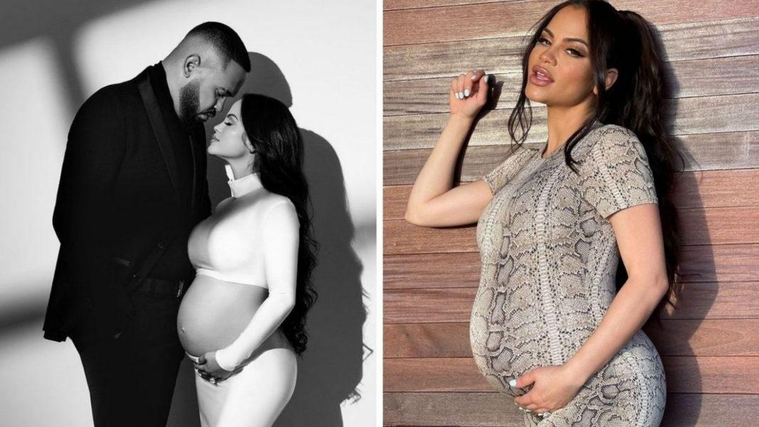 Natti Natasha deja ver el rostro de su bebé por primera vez