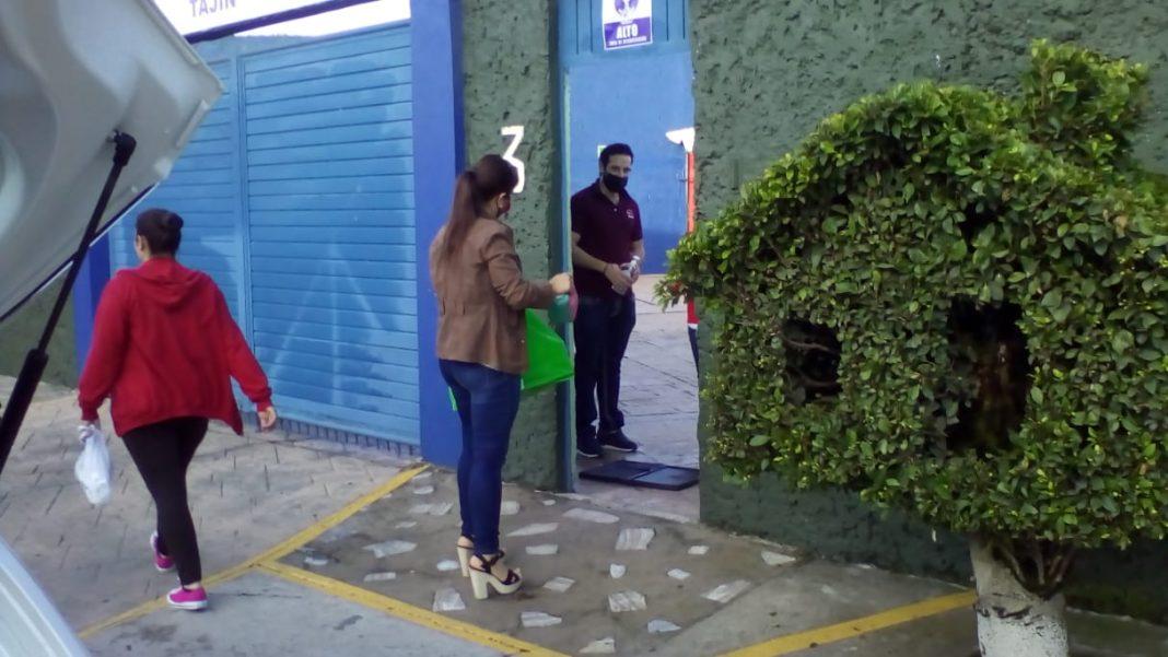 Colegio particular de Coatepec regresa a clases presenciales