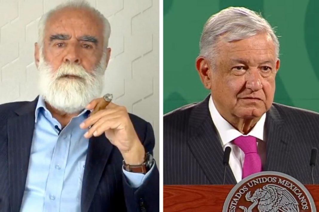 Diego Fernández de Cevallos denuncia a AMLO frente a la FGR