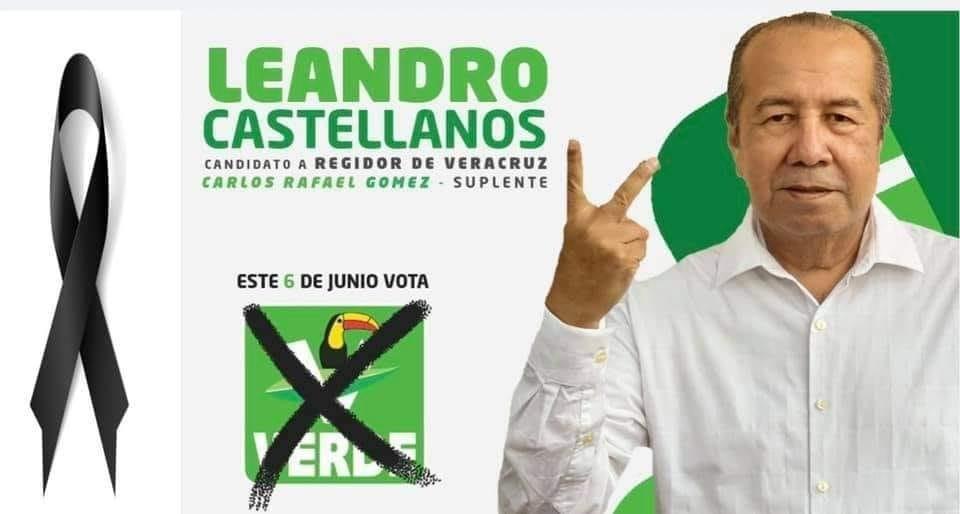 Fallece candidato del PVEM a regidor de Veracruz