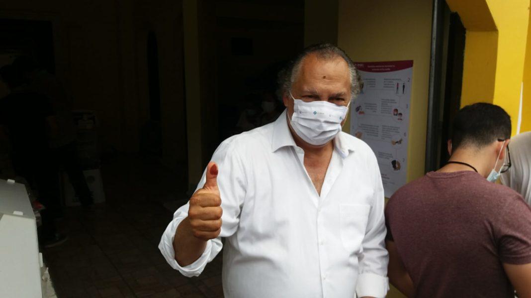 Ricardo Exsome llama a votar por el mejor candidato