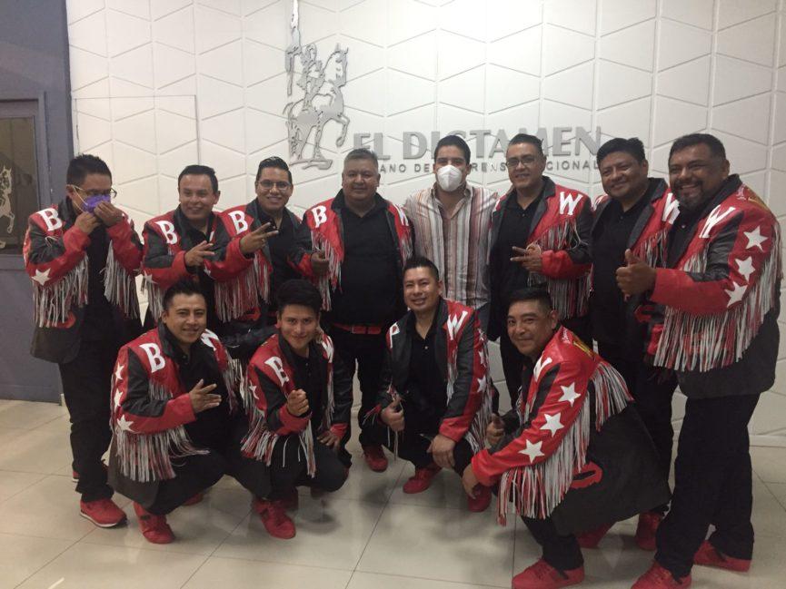 Llega a Veracruz la Banda Wizoka, la consentida de los rodeos