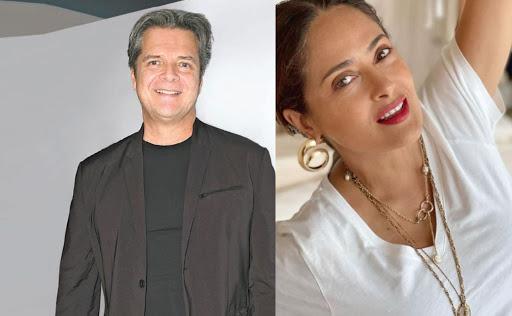 Ariel López revela que fue maestro de Salma Hayek y hasta la reprobó