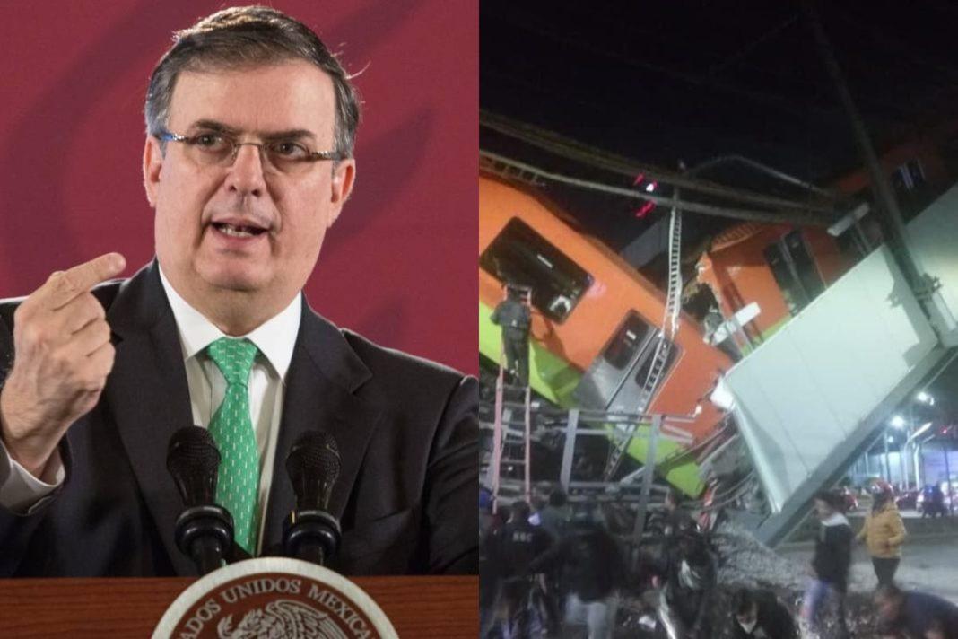 Marcelo Ebrard responde al NYT: Línea 12 es quizá la obra más auditada