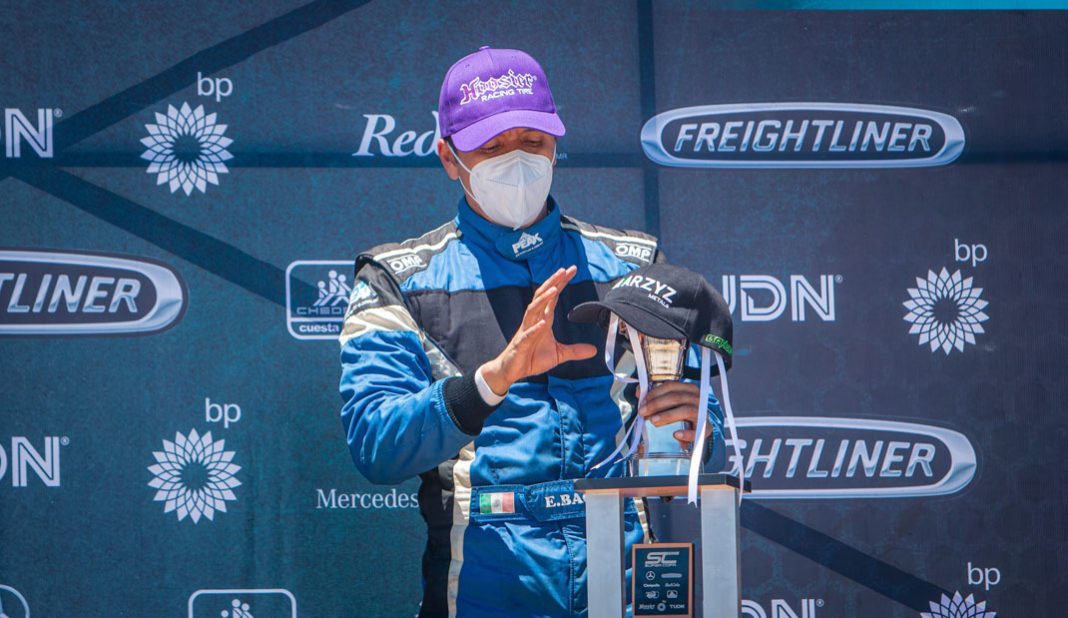 Enrique Baca considera tener posibilidades de ser campeón