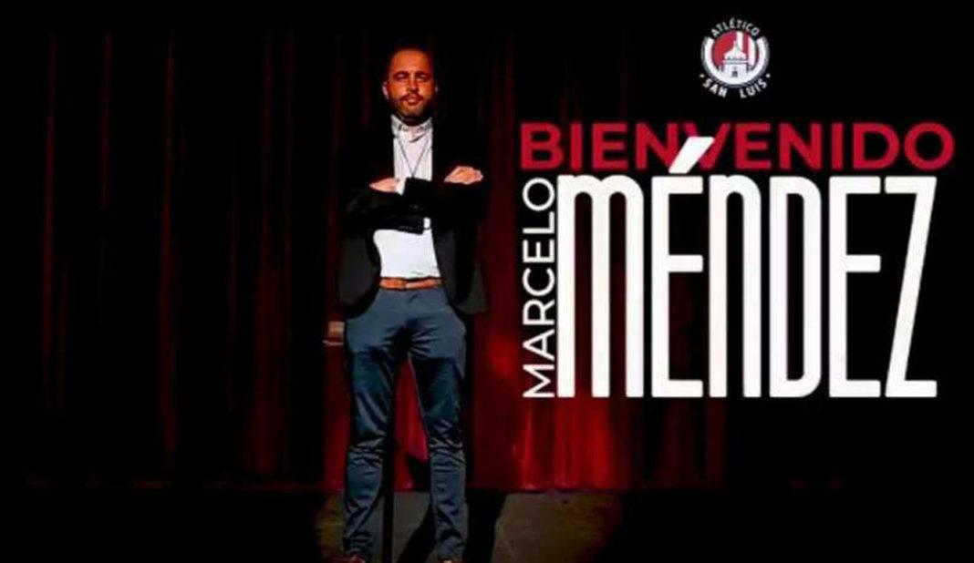 San Luis presenta a Marcelo Méndez como su nuevo técnico