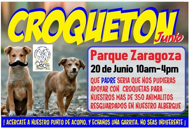 Invitan a Croquetón del Día del Padre este domingo en el Parque Zaragoza