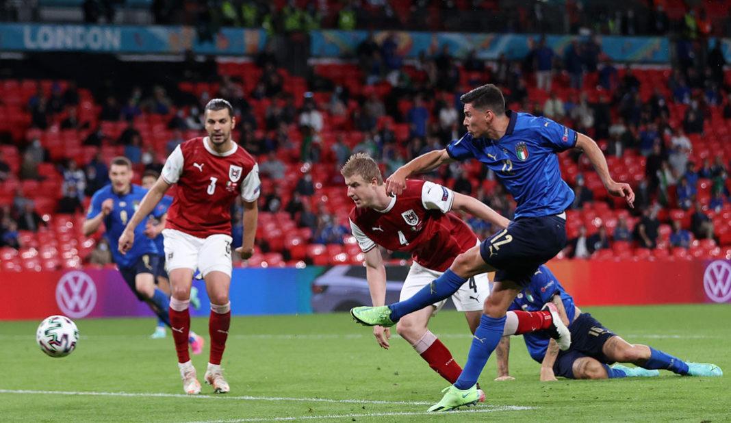 Italia vence a Austria en tiempo extra