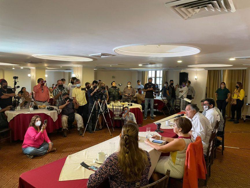 """Ricardo Exsome: """"La defensa del triunfo en Veracruz continúa"""""""