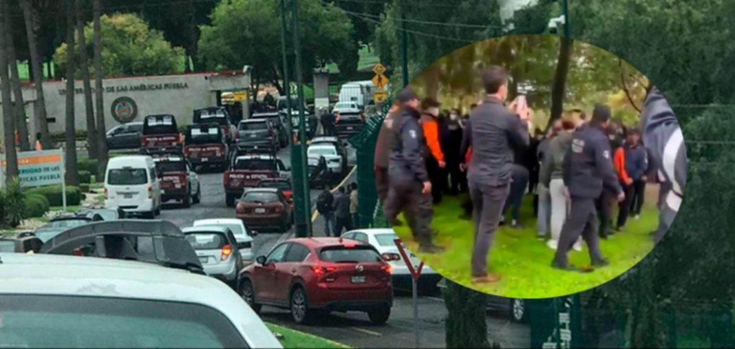"""La toma de la UDLAP fue un acto """"de despojo"""", asegura el rector Ernesto Derbez"""