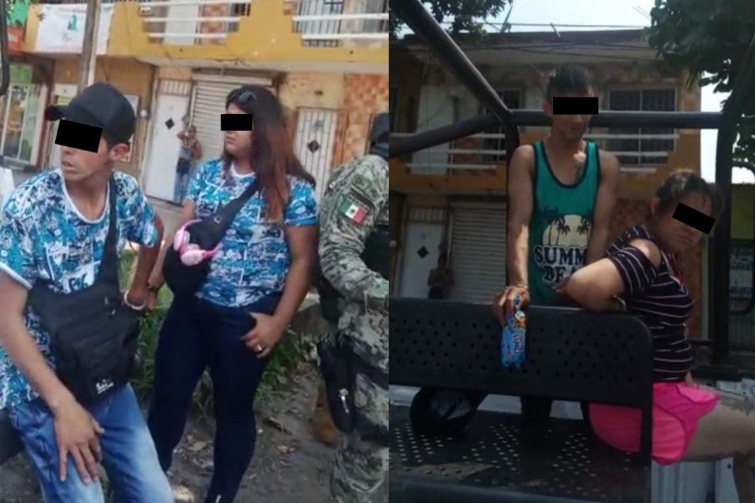 Poblanos apuñalan a taxista para robarle, en el puerto de Veracruz