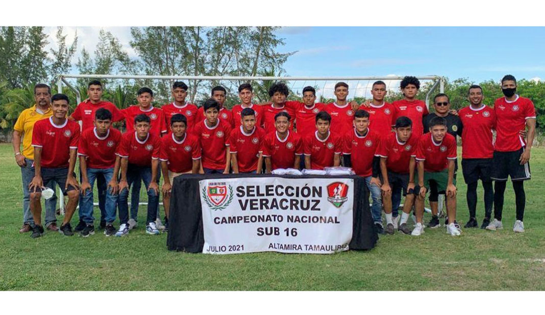 Veracruz Sub-16 al Nacional Regional en Altamira