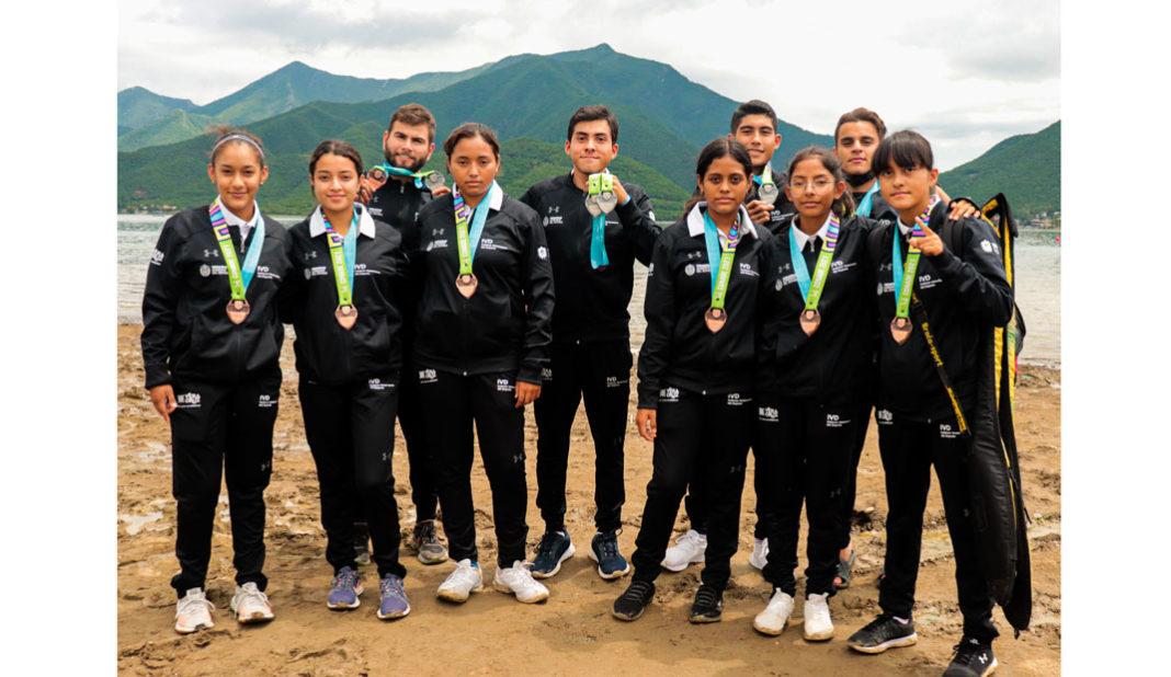 Canotaje veracruzano finaliza con ocho medallas en total