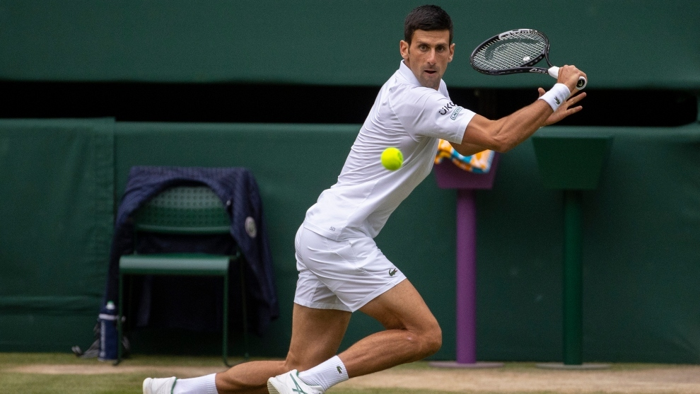 Novak Djokovic avanza a la final de Wimbledon