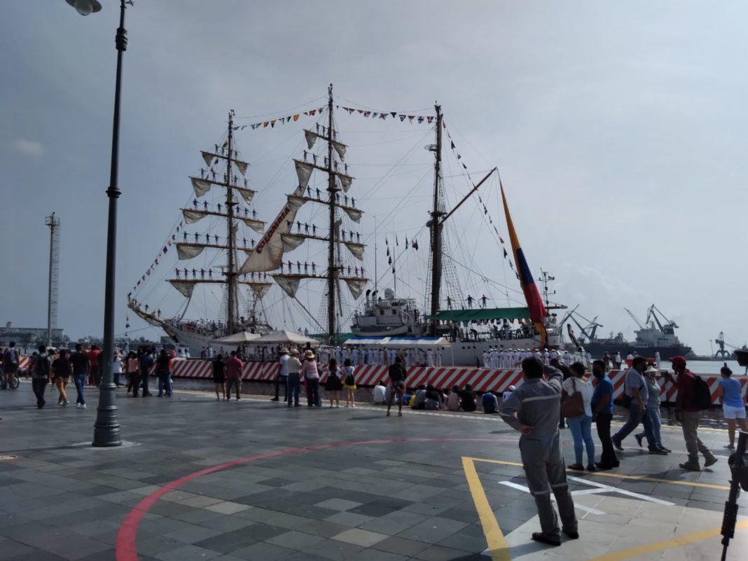 """Arriba a Veracruz el buque escuela """"ARC Colombia"""""""