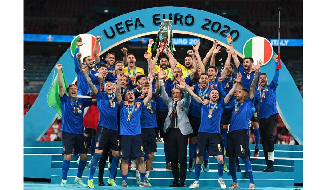 Italia premia con €250 mil euros a ganadores de la Eurocopa