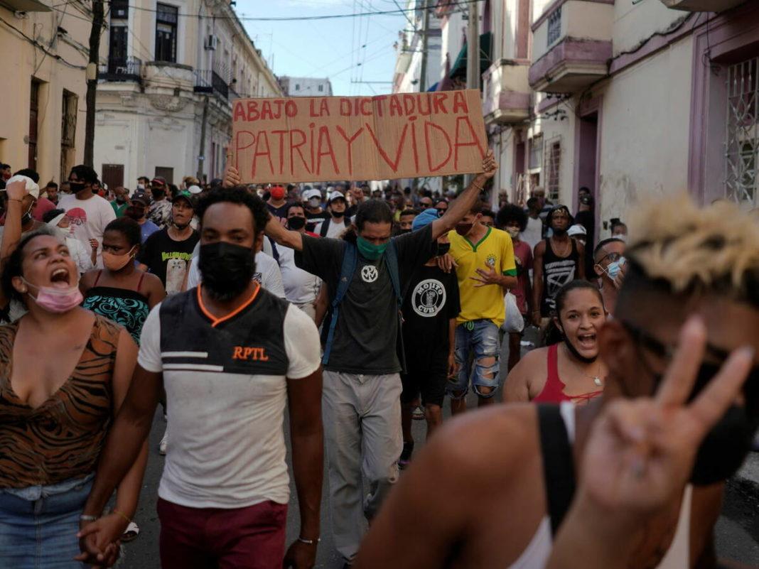 Las protestas en Cuba son un ejemplo para toda Latinoamérica: Arturo Matiello