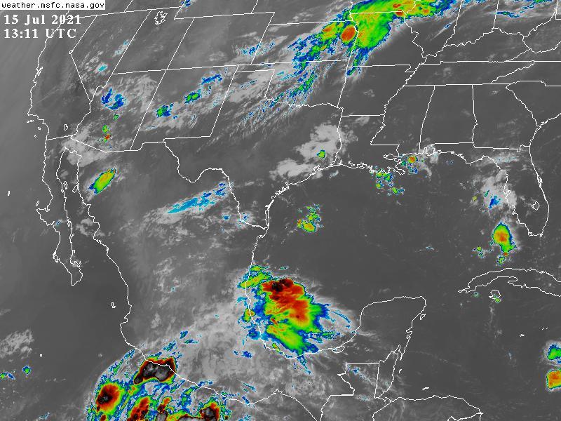 Clima en Veracruz: Se mantienen las lluvias en la entidad