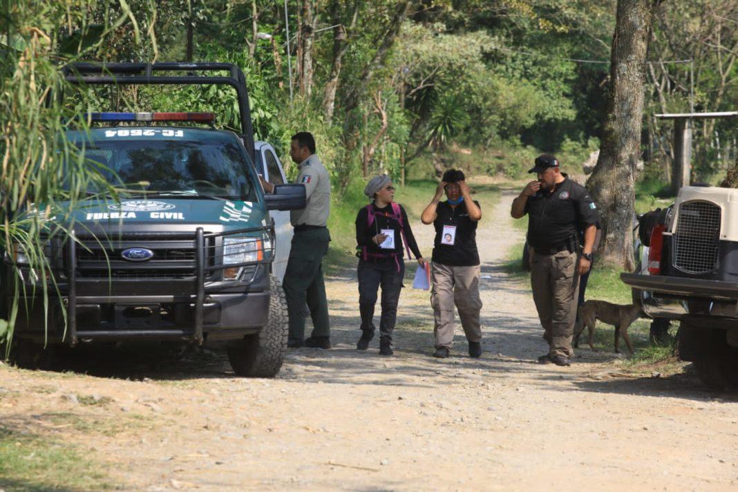 Denuncian que Fiscalía abandona la zona de recuperación de cuerpos en Ixtaczoquitlán