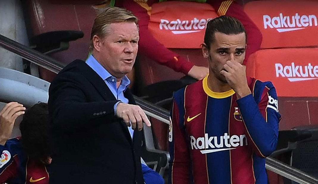Koeman analiza al Barcelona y olvida a Griezmann