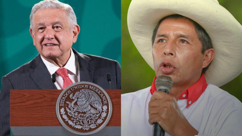 AMLO felicita a Pedro Castillo, presidente electo de Perú, por su triunfo electoral