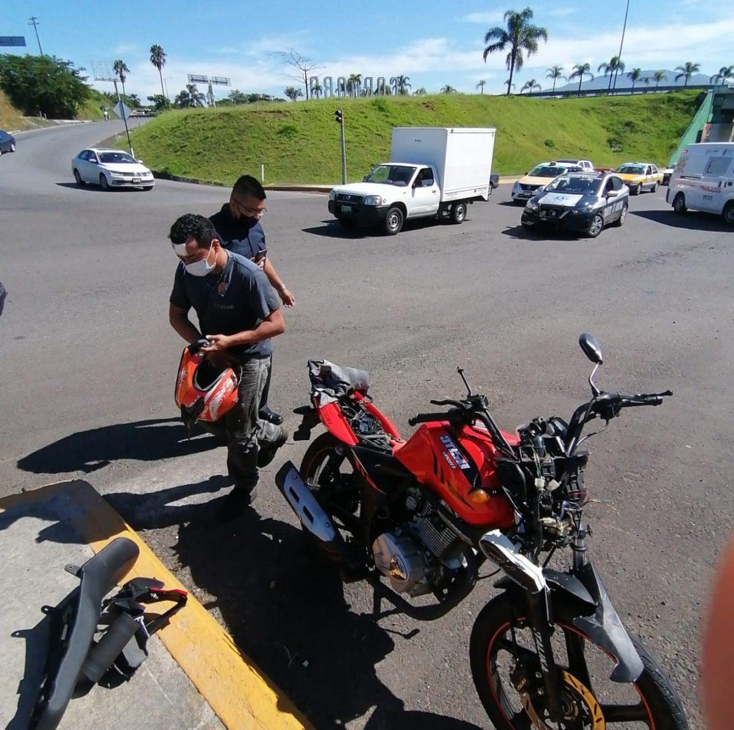 Motociclista se estrelló contra una camioneta en bulevar de Córdoba