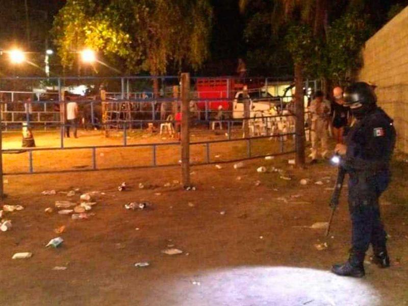 GN suspende jaripeo con más de 500 asistentes en Acapulco