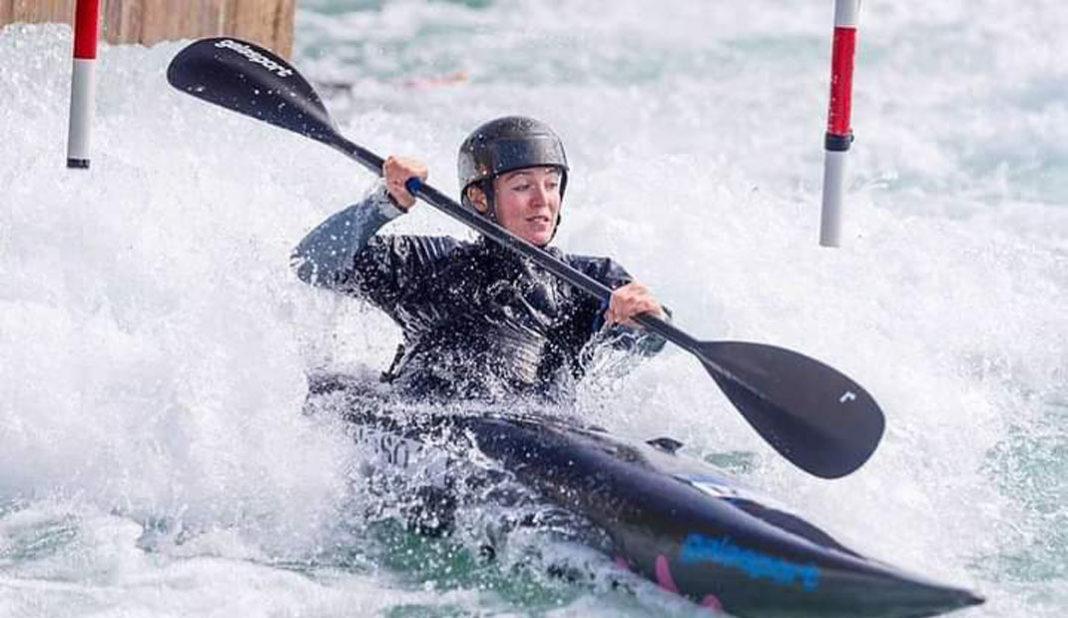 Sofía Reynoso lista para el canotaje slalom en Tokyo
