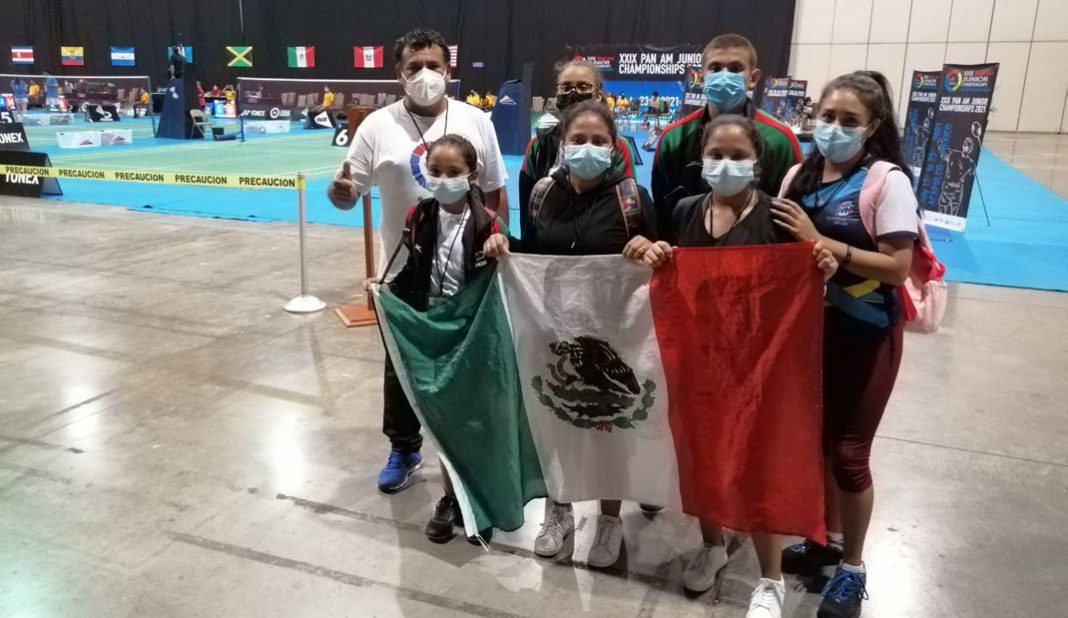 Veracruzanas ganan bronce en Panamericano de Bádminton