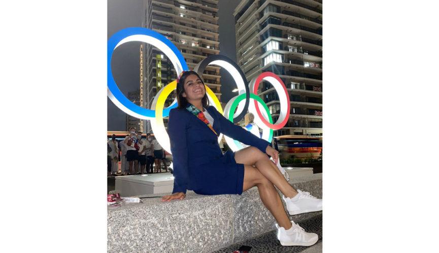Lucen atletas veracruzanos en inauguración de Tokyo