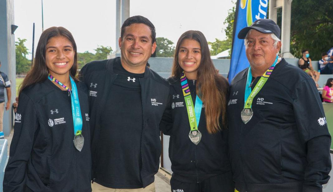 Plata para Veracruz en voleibol de playa en Colima