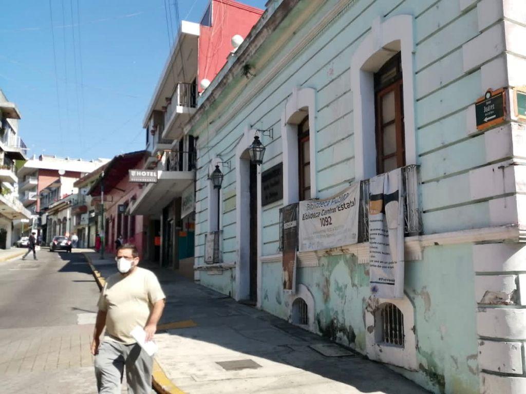 Biblioteca de Xalapa se encuentra en condiciones deplorables