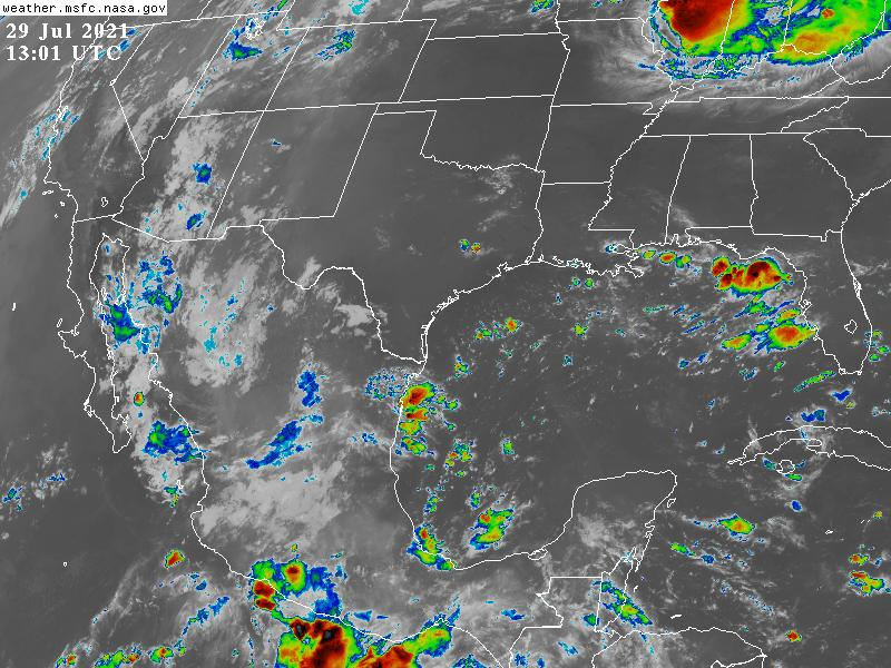 Clima en Veracruz: Se prevén tormentas dispersas y ambiente fresco