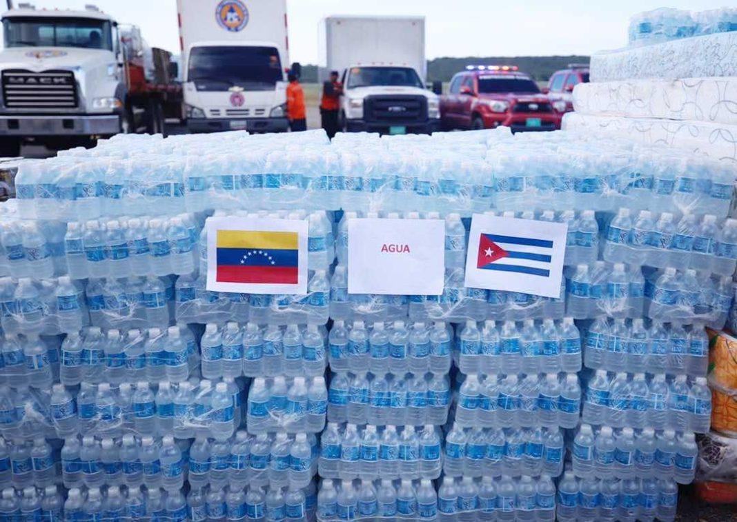 Cuba distribuirá por familias la ayuda alimentaria recibida por México y otros países