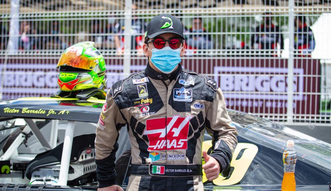 Víctor Barrales Jr. por la 4ta fecha en la Nascar Challenge