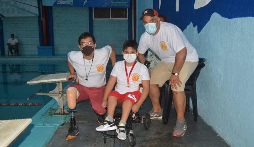 Abraham Mendoza, un guerrero de la natación paralímpica
