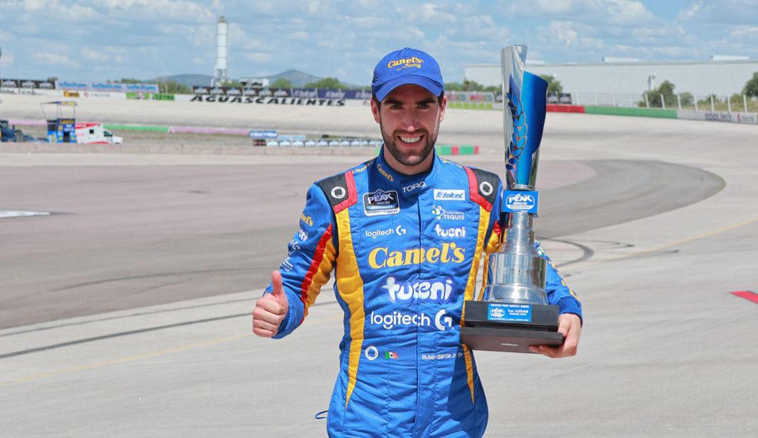 Rubén García Jr se lleva la victoria en el NASCAR Peak