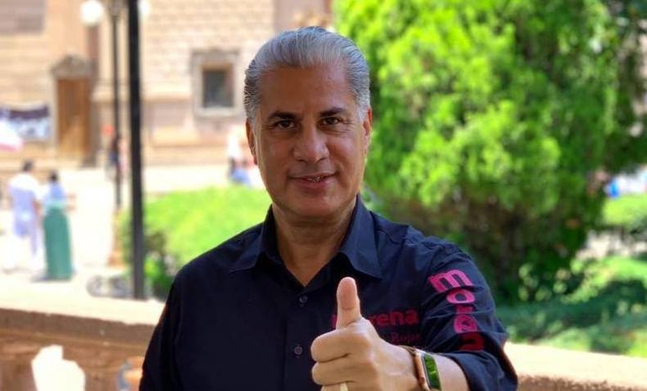 """Alejandro Rosas """"levanta la mano""""; quiere ser gobernador de Tamaulipas"""