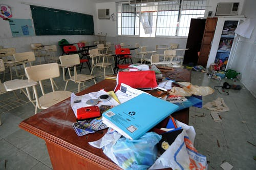 """""""Veracruz sin condiciones para el regreso a clases, las escuelas están desvalijadas"""""""