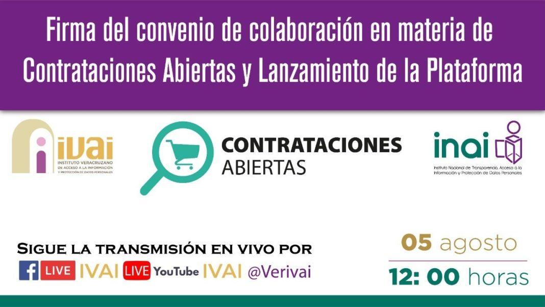 INAI e IVAI lanzan plataforma de Contrataciones Abiertas